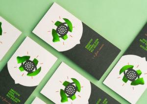 green design comunicazione verde eco grafica stampa