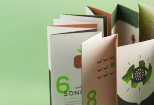 brochure green design verde agenzia grafica pubblicitaria comunicazione minerbio bologna logo creazione loghi professionali packaging siti web creare sito web professionale clienti eco